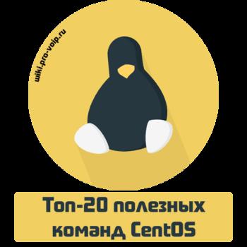 Топ-20 полезных команд CentOS