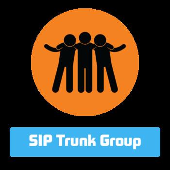 Объединение SIP транков в группу