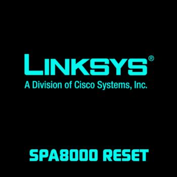 Сброс до заводских настроек Linksys SPA8000