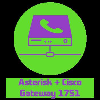Настройка Cisco 1751 для работы с Asterisk