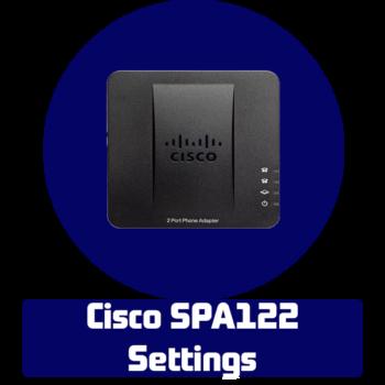 Настройка голосового шлюза Cisco SPA122