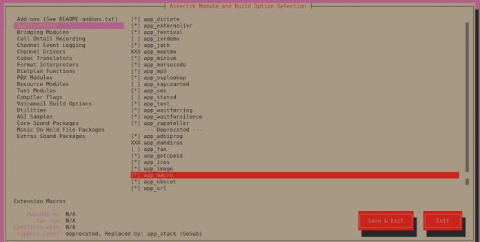 Как установить Asterisk 16 LTS на CentOS 7 / Fedora
