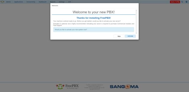 FreePBX 14 настройка